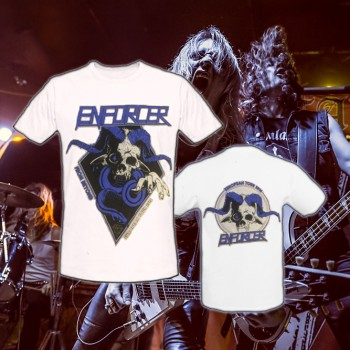 ENFORCER - From Beyond Tour White T-Shirt XL