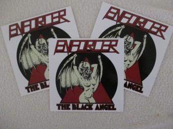 ENFORCER - The Black Angel (3er Set)  Sticker / Aufkleber