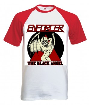 ENFORCER - Black Angel Baseball-Shirt