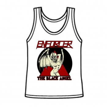 ENFORCER - The Black Angel Tank-Girlie, L