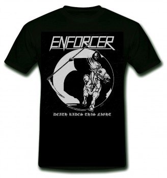 ENFORCER - Death Rides This Night T-Shirt, L