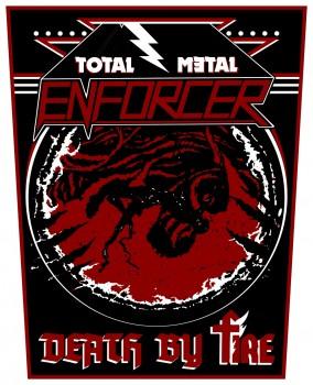 ENFORCER - Total Metal Backpatch