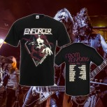 ENFORCER - From Beyond Tour Black T-Shirt XL