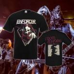 ENFORCER - From Beyond Tour Black T-Shirt XL