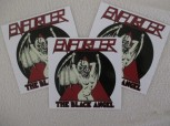 ENFORCER - The Black Angel (3er Set)  Sticker / Aufkleber