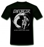 ENFORCER - Death Rides This Night T-Shirt, M