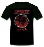 ENFORCER - Death By Fire T-Shirt, L