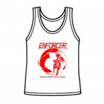 ENFORCER - Death Rides This Night White Tank, M