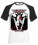 ENFORCER - Nightmare Baseball-Shirt, XL